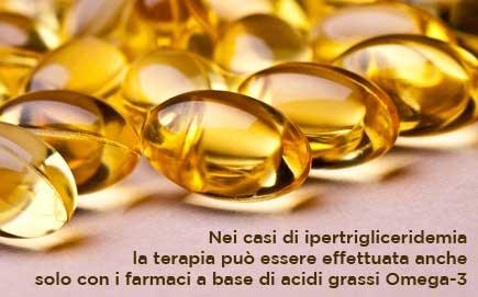 I farmaci Omega-3 abbassano i trigliceridi alti e riducono il rischio cardiovascolare