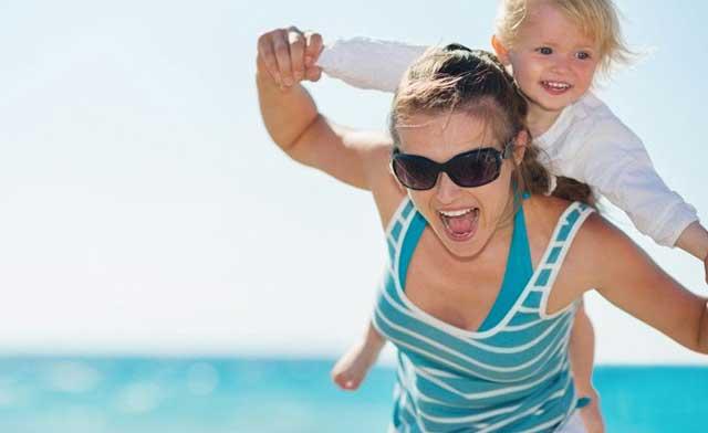 Cistite d'estate. Le regole per mamma e bimbo